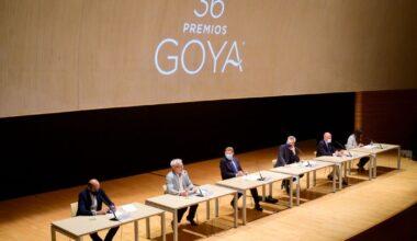 Reunión de presentación de los Premios Goya 2022